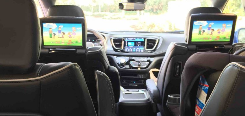 Chrysler Pacifica Inside