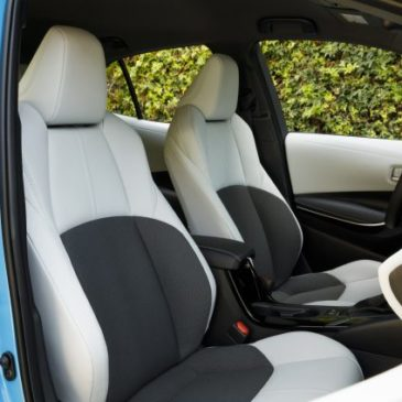 2021 Toyota Corolla Hatchback Inside